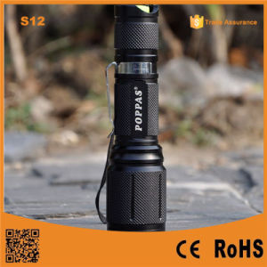 S12 Most Powerful LED Light Rechargeable Torch Light for Hunting, Police, Emergtency pictures & photos