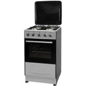 Free Standing with Enameled Pan Gas Oven (SS+metal lid) pictures & photos