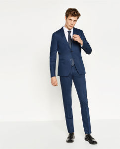 Navy Blue Men Designer Leisure Suit