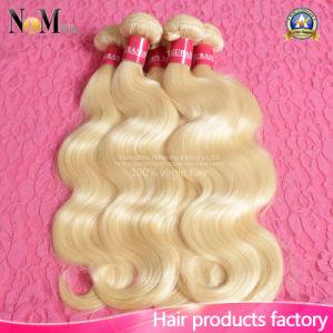 Brazilian Virgin Hair Body Wave Human Blonde Brazilian Hair Weaves 8A Grade Color 613 Blonde Virgin Hair pictures & photos