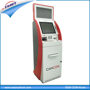 Customized Dual Screen Kiosk for Bill Payment Kiosk pictures & photos