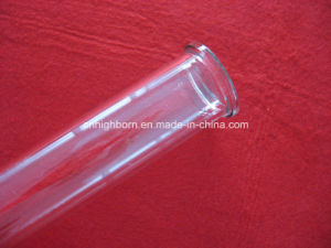 Clear Quartz Glass Tube with Flange pictures & photos