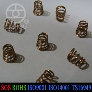 Small Steel Conical Compression Battery Spring pictures & photos