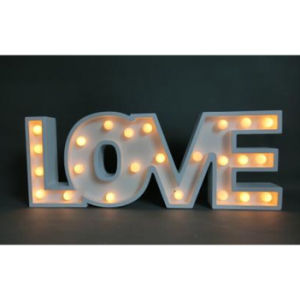 LED Light Holiday Decorations with Letter pictures & photos