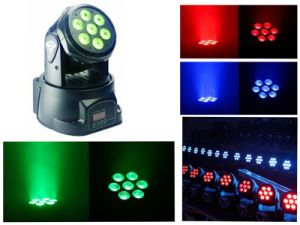 Hot 7X3w Mini Moving Head for Bars pictures & photos