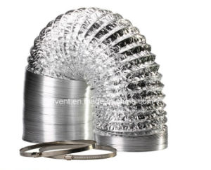 HVAC Air Conditioning Aluminium Flexible Duct pictures & photos