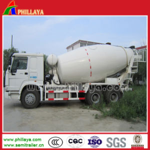 Volume Opptional Concrete Mixer Pump Semi-Trailer pictures & photos
