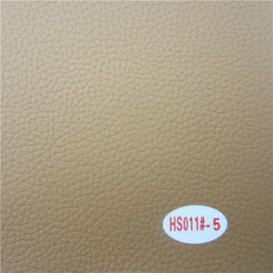 Hot Sale Lichee Pattern PVC Car Interior Leather pictures & photos