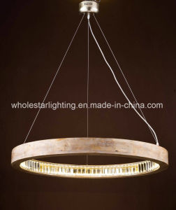 Wood Chandelier with LED Inside (WHG-9091) pictures & photos