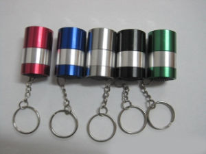9LED/LED Egg Keychain Flashlight (ETNG-9003) pictures & photos