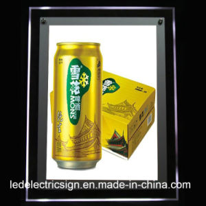 LED Light Box for Beer Advertising pictures & photos