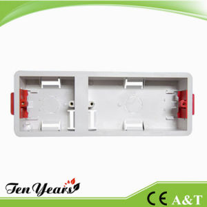 35mm Flush Mounted 2g+1g Dry Lining Box pictures & photos