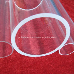 Transparent Fused Quartz Glass Tube pictures & photos