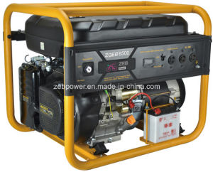 5.5kw Open Type Single Phase Portable Gasoline Generators (ZGEA6500 and ZGEB6500) pictures & photos