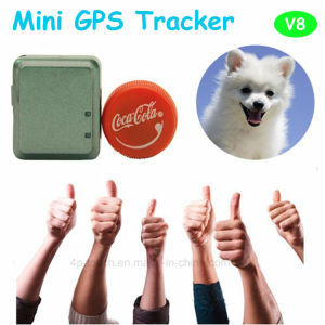Newest Mini Pet GPS Tracker with GPS+Lbs+Agps (V8) pictures & photos