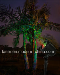 Outdoor Laser Light Christmas Decoration Red and Green Light Sensor Laser Projector pictures & photos