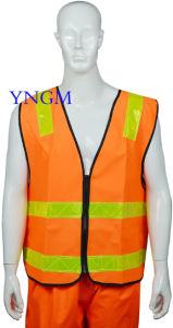 Safety Reflective Workwear Vest with High Visibility and Good Quality pictures & photos