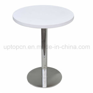 Best-Selling White Cafe Rastaurant Round Table (SP-RT113) pictures & photos