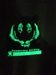 Customized PVC 3D LED Flashing Badge Lighting Sticky Badge Denote Luminous Fluorescent Armband Brassard Badge with Hook & Loop pictures & photos