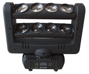 RGBW CREE 8 Pieces 10W LED Spider Beam Moving Head Stage Light pictures & photos