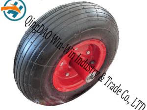 "13""X4.00-6rubberwheel Pr3024 Platform Trucks Pneumatic Rubber Wheel pictures & photos"