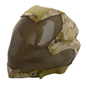 Airsoft Tactical Full Face V6 Strike Mesh Mask pictures & photos