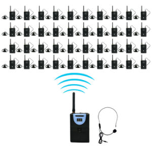Tp-Wireless Tour Guide System Audio Device for Tour Guiding, Conference, Simultaneous Translation, Meeting, Museum Visiting1 Transmitter40 Receiver pictures & photos