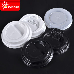 Black Paper Coffee Cup Cap / Cover pictures & photos