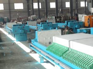 Petrochemical Solid Liquid Separation Cast Iron Box Filter Press pictures & photos