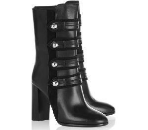 New Arrival Classical Black Women Boots with Side Zipper (HS17-076) pictures & photos