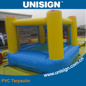 PVC Coated Fabric for Inflatable Castle pictures & photos
