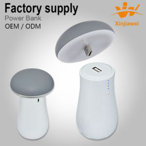 Best Quality LED Mushroom Power Bank pictures & photos