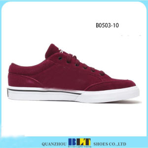 Top Quality Suded Leather Sample Free Casual Shoes pictures & photos