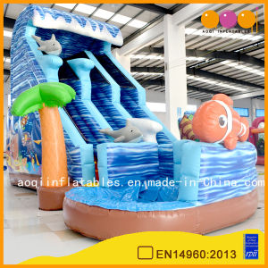 Aoqi Design Inflatable Ocean Slide for Kid (aq01407) pictures & photos
