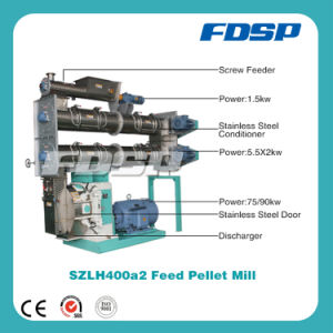 CE Approved Ring Die Animal Feed Pellet Mill pictures & photos