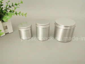 Silver Aluminum Tin Can for Gift Packaging (PPC-AC-066) pictures & photos