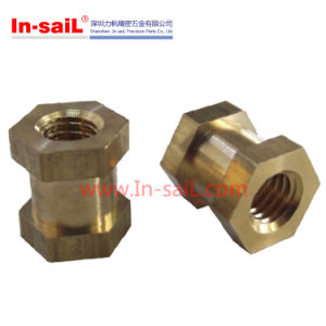 Brass Hex Head Threaed Insert Nut for Motorcyle pictures & photos