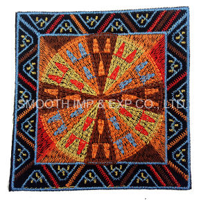 Fashion Vintage Colorful Yarn Tetragonum Ethnic Embroidery Patch Wholesale pictures & photos