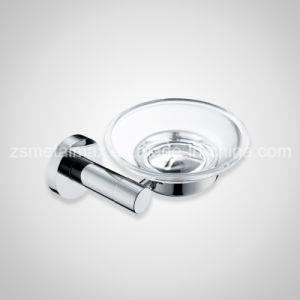 Stainless Steel Bathroom Wall Glass Soap Dish Holder (FZT002) pictures & photos