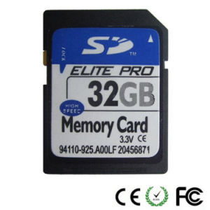 Factory Price 32GB SD Memory Cards pictures & photos