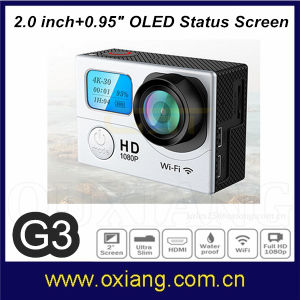 G3 170 Degree Lens Similar Go PRO Sport Camera with WiFi Remote Controller pictures & photos