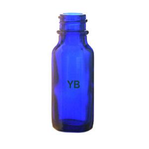 Glass Bottles, Cobalt Blue Boston Round Glass Bottles