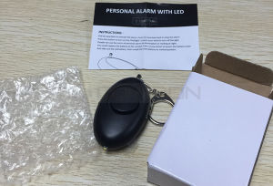 Manufacturer High Quality Personal Alarm Panic Alarm for Lady Kids with Key Ring Support OEM pictures & photos
