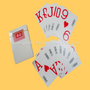 High Quality Plastic Casino Playing Cards with Barcode pictures & photos