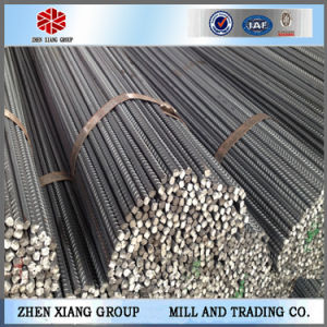 Building Construction Steel Reinforcing Bars, China Steel Rebars Price List pictures & photos