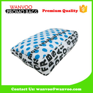 Square Canvas Cotton Sponge Cosmetic Bag Guangzhou pictures & photos