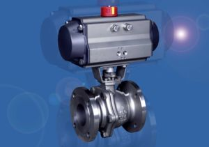 Pneumatic Ball Valve (Q641F) pictures & photos