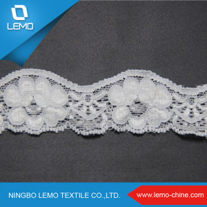 New Design Lace Embroidery Non-Elastic Flower Lace for Underwear pictures & photos