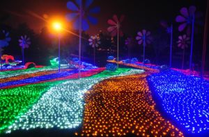 LED Waterfall Light Home Party Garden Decoration pictures & photos