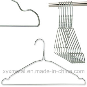 Cloth Coat Galvanized Wire Hanger for Commercial Laundries Using pictures & photos